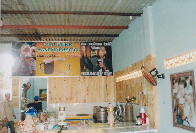 CLB Beer Sadobeco - bên trong quán