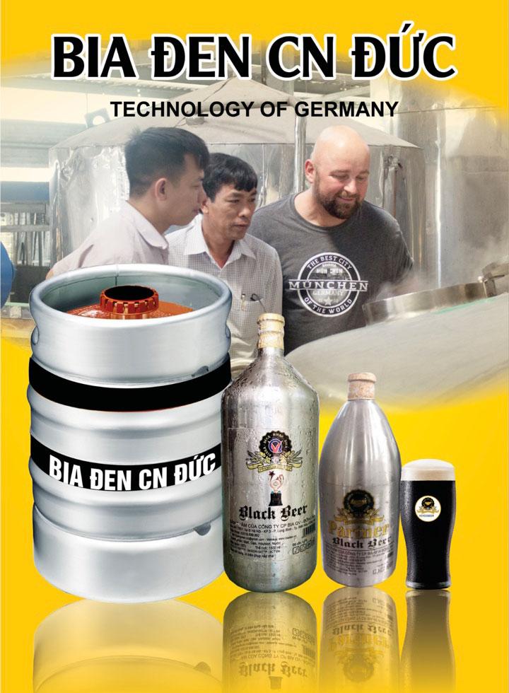 các dòng bia tươi đen: bia tươi đen bock, bia tươi đen thap, bia tươi chai inox