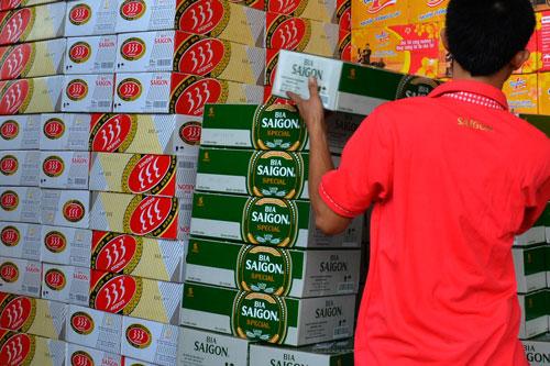 Hấp dẫn cổ phiếu ngành bia